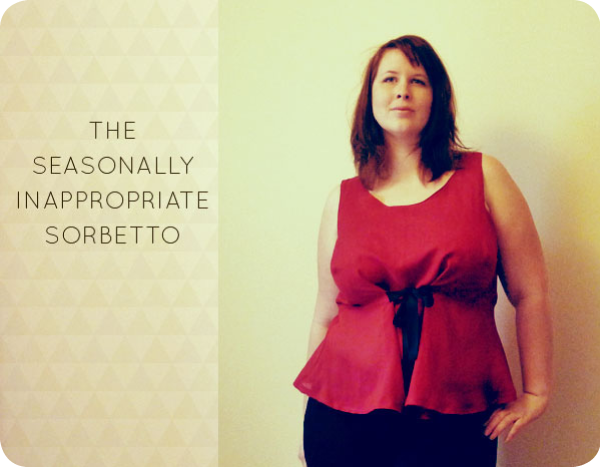 Sorbetto dress sew along with joanie